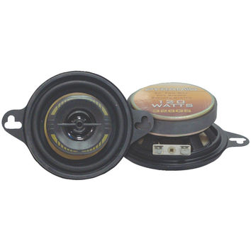 "Pyramid Yellow Label Series 2-way Speakers (3.5"" 120 Watts)"