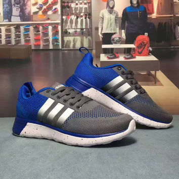 """""""Adidas NEO"""" Fashion Casual Weave Unisex Sneakers Couple Running Shoes"""