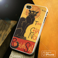 Le Chat Noir Art iPhone 4(S),5(S),5C,SE,6(S),6(S) Plus Case