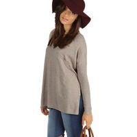 Natural My Good Side Sweater