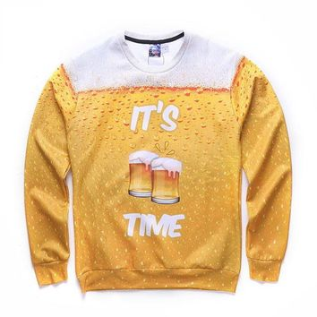 It's Beer Time Sweater