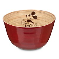 disney parks kitchen collection mickey mouse bamboo bowl new