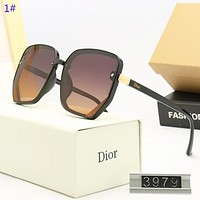 Dior  New fashion polarized women sun protection leisure glasses eyeglasses 1#