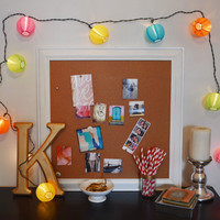 Multicolor Lantern String Light Set