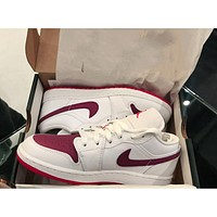 Nike Air Jordan 1 Low Low-Cushioning Abrasion-Resistant Basketball Shoes Sneakers Shoes