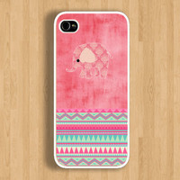 The Pink World of Elephant and Aztec Design: Iphone 4/4s case Iphone 5 case