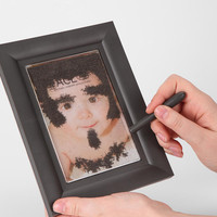 Urban Outfitters - Fuzzy Face Picture Frame