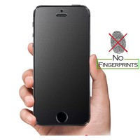 No Fingerprint Ultra thin Tempered Glass Screen Protector for iPhone 7 5 SE 5s 6 6S Plus 8 X Frosted matt Glass Protective Film