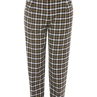 Checked Peg Trousers - New In Fashion - New In