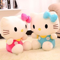 New Arrival 20cm Lovely Hello kitty Plush Toy Kids Educational Sleeping Appease Stuffed Doll Birthday Gift