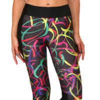 Capri Yoga Running Workout Leggings