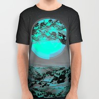 Neither Up Nor Down II All Over Print Shirt by Soaring Anchor Designs