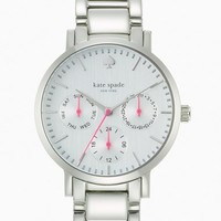 Women's kate spade new york 'gramercy' multifunction bracelet watch, 34mm