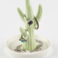 Green Cactus Jewelry Tray | Lighting & Decor