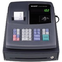 Sharp Electronics XEA106 Cash Register