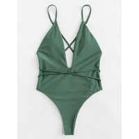 Gemini Swimsuit - Green