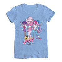 Mighty Fine: Holograms Playing Women's Tee