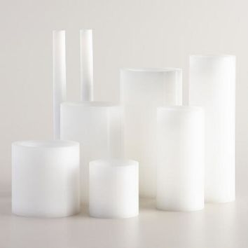 White Flameless LED Candles
