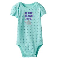 Jumping Beans ''If the Crown Fits'' Bodysuit - Baby Girl, Size:
