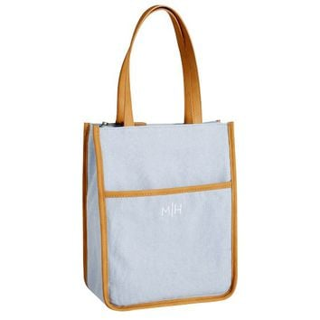 Northfield Dusty Blue Tote Lunch Bag
