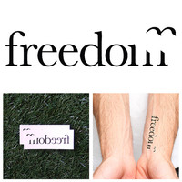 Jailbreak - Temporary Tattoo (Set of 2)