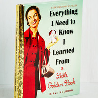 Vintage Inspired Everything I Need to Know I Learned from a Little Golden Book by ModCloth