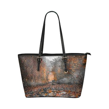 Tote Bags, Autumn Brown Style Bag