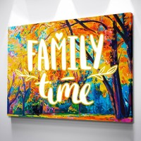 Family Time Canvas Set
