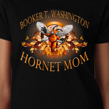 Booker T. Washington Hornet Mom T-Shirt
