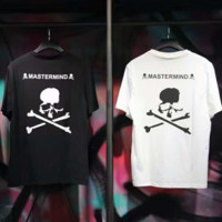 """""""Mastermind""""Fashion Print Casual Short Sleeve Shirt Top Tee Blouse G-A-XYCL"""