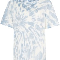 Summer Blue Tie-Dye T-Shirt by Stella McCartney