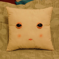 Odd Doll - Creepy Face Pillow! ((Made to Order))