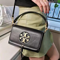Tory burch 2020 new mini bag metal logo shoulder bag