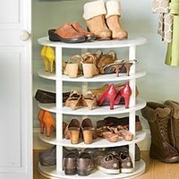 Rotating Five-Tier Shoe Rack