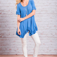 Feeling Fun Top, Blue