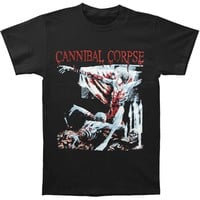 Cannibal Corpse Men's Tomb of The Mutilated T-shirt Black Mens T Shirts Summer Hipster 2018 Fashion 100% Cotton Slim Fit Top