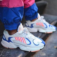 ADIDAS Yung-1 Retro Daddy Shoes Stripe Colorblock Sneakers