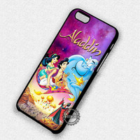 Purple Galaxy Sky Aladdin Disney - iPhone 7 6 5 SE Cases & Covers