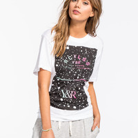 Young & Reckless Turnover Womens Boyfriend Tee White  In Sizes