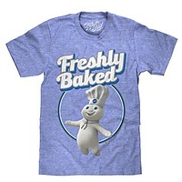 Pilsbury Doughboy Freshly Baked Soft Retro Tee Shirt