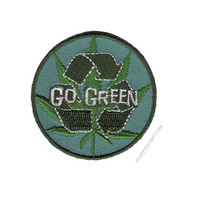 Weed Indeed Go Green Patch on Sale for $4.99 at HippieShop.com