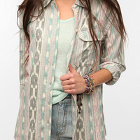Urban Outfitters - BDG Ikat Button-Down Shirt