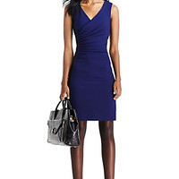 DVF Eliana Sleeveless Ceramic Sheath Dress
