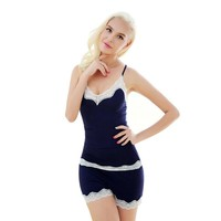 CINOON Sexy Pijamas Camisole & Panties Sets Clothing for Women Home wear Indoor Clothing Lady Cute pajamas for women's Sleepwear