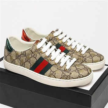 Dior  GG Ace Embroidered Low-Top Color Block Embroidered Casual Shoes (Top Quality) G
