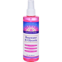 Heritage Products Rosewater And Glycerin - 8 Fl Oz