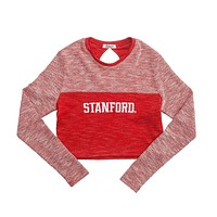 Stanford University Terry Crop Top