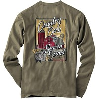 Cherished Girl Country Born Heaven Bound Faith Long Sleeve T-Shirt