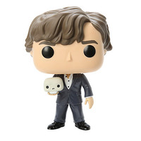 Funko Sherlock Pop! Television Sherlock With Skull Vinyl Figure Hot Topic Exclusive