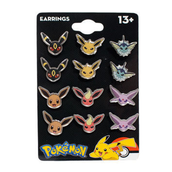 Eevee Evolution Earring Pack